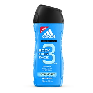 Adidas After Sport Men's 8.4-ounce Shower Gel and Shampoo
