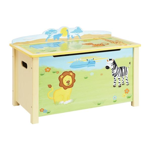 Savanna Smiles Toy Box