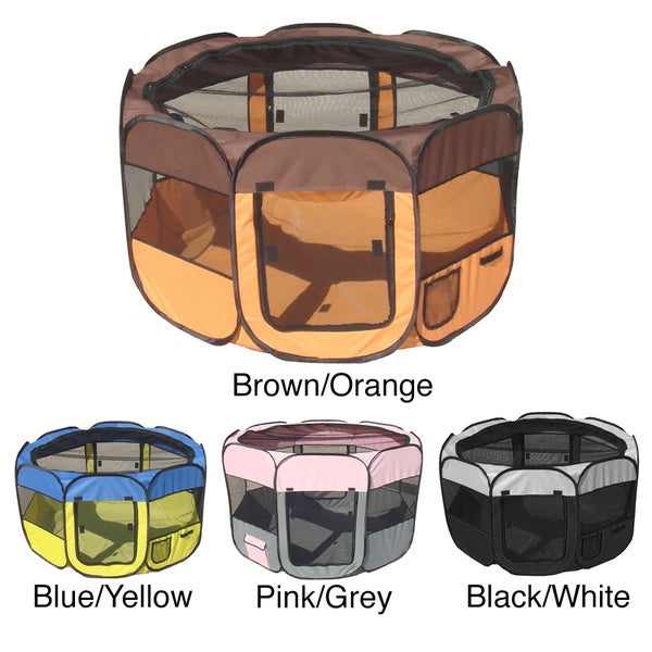 Pet Life Collapsible Travel Pet Play Pen