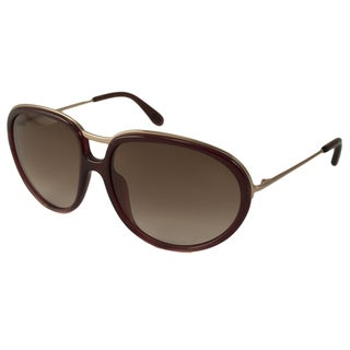 Tom Ford Women's TF0281 Faye Oval Sunglasses