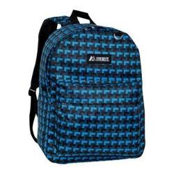 Everest Pattern Printed Backpack (Set of 2) Blue Steps