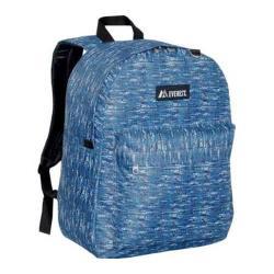Everest Pattern Printed Backpack (Set of 2) Blue Tweed