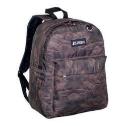 Everest Pattern Printed Backpack (Set of 2) Brown Rock
