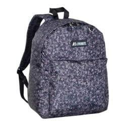Everest Pattern Printed Backpack (Set of 2) Brown Vines