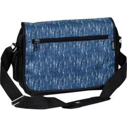 Everest Casual Messenger Briefcase Blue Tweed