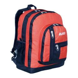 Everest Double Compartment Backpack Rust Orange
