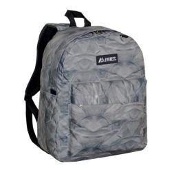 Everest Pattern Printed Backpack (Set of 2) Grey Rock