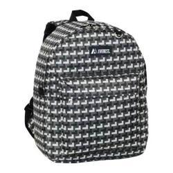 Everest Pattern Printed Backpack (Set of 2) Grey Steps
