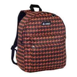 Everest Pattern Printed Backpack (Set of 2) Orange Steps