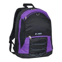Everest Two Tone Backpack 3045SH Dark Purple