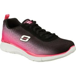 Women's Skechers Equalizer Oasis Black/Hot Pink
