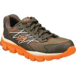 Boys' Skechers GOrun Ride 2 Innate Charcoal/Orange
