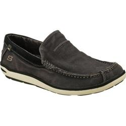 Men's Skechers Relaxed Fit Naven Spencer Black/Charcoal
