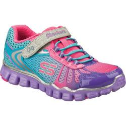 Girls' Skechers Skech Flex Running Wild Lavender/Multi