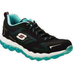 Women's Skechers Skech-Air Black/Light Blue