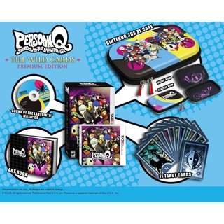 Nintendo 3DS - Persona Q: Shadow of the Labyrinth: Wild Cards Premium Edition