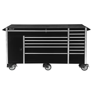 Excel 72-Inch Roller Metal Tool Cabinet with 14 Drawers