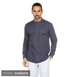 In-Sattva Anita Dongre Men's Welt Pocket Pullover Tunic (India)