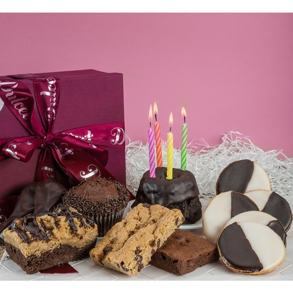 Gourmet Chocolate Birthday Sampler Celebration Gift Box