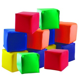 ECR4Kids Soft Toddler Blocks 5.5-inch Foam Cubes