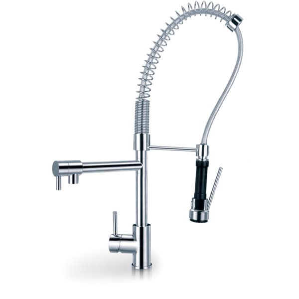 Sumerian Pre Rinse High Arc Kitchen Faucet And Pot Filler