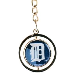 MLB Detroit Tigers Logo Spinning Keychain