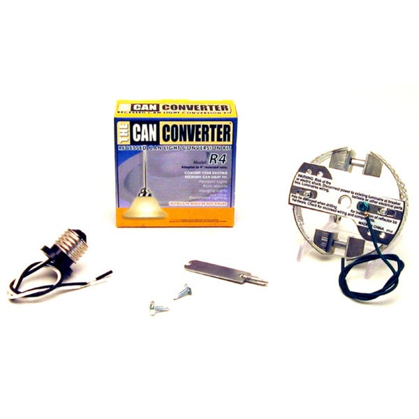 The Can Converter R4 Recessed Can Light Conversion Kit for 4-inch Recessed Cans