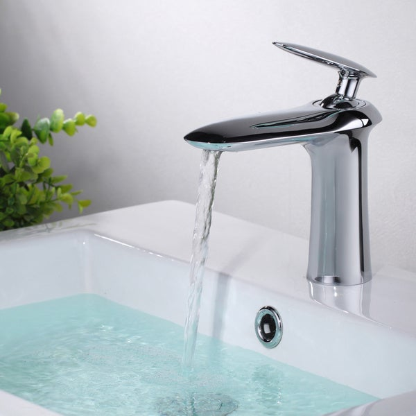 Sumerain Single Lever Chrome Basin Faucet