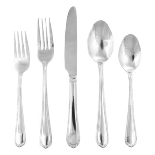 Hampton Forge Silversmiths Tara Mirror 45-Piece Flatware Set