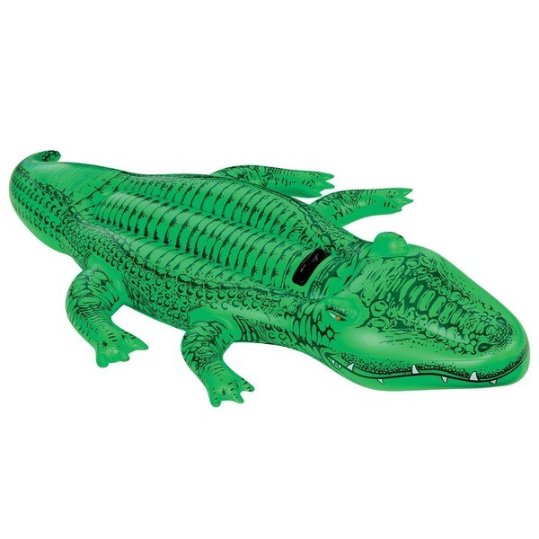 Intex Giant Gator Inflatable Ride-on