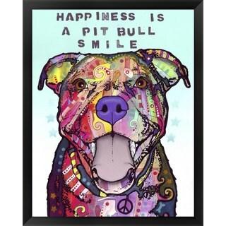 Dean Russo 'Smile' Framed Art