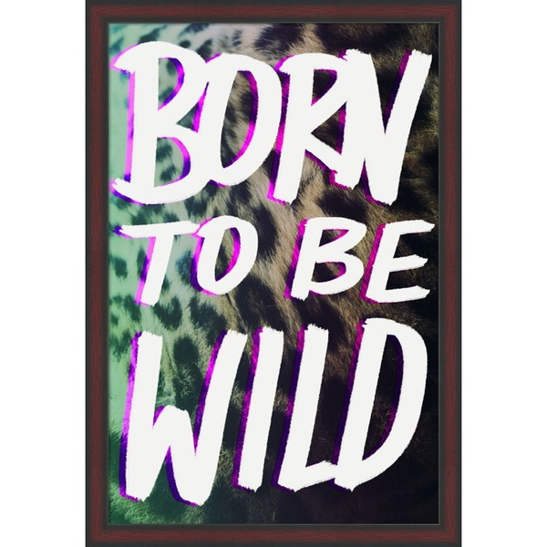 Leah Flores 'Born To Be Wild' Framed Art