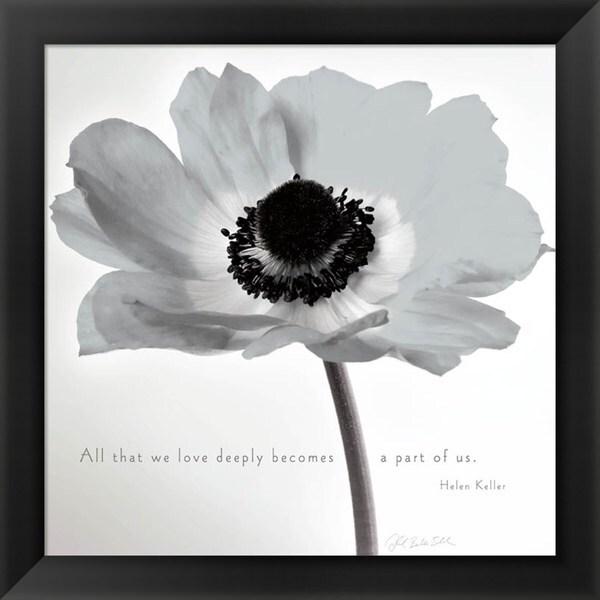 Deborah Schenck 'Poppy Love' Framed Art