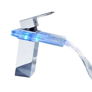 Sumerain Essenzia LED Thermal Waterfall Basin Faucet