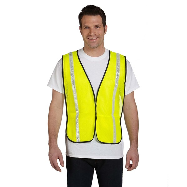 Value Mesh Gloss Yellow Safety Vest 13180122