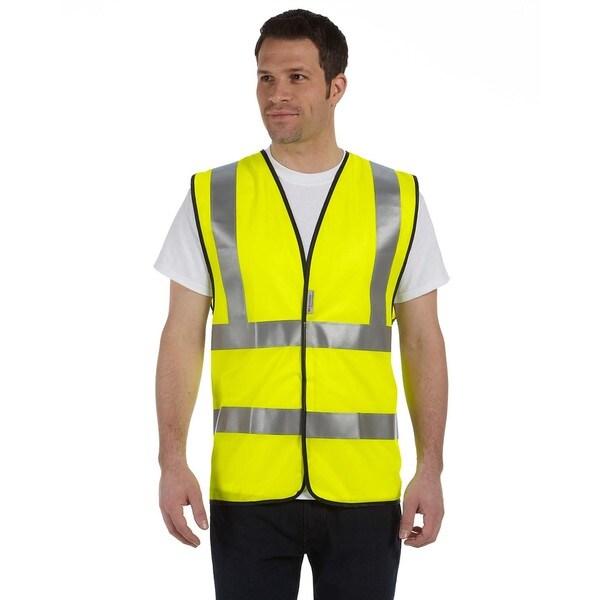 Premium Solid Class 2 Dual Stripe Vest