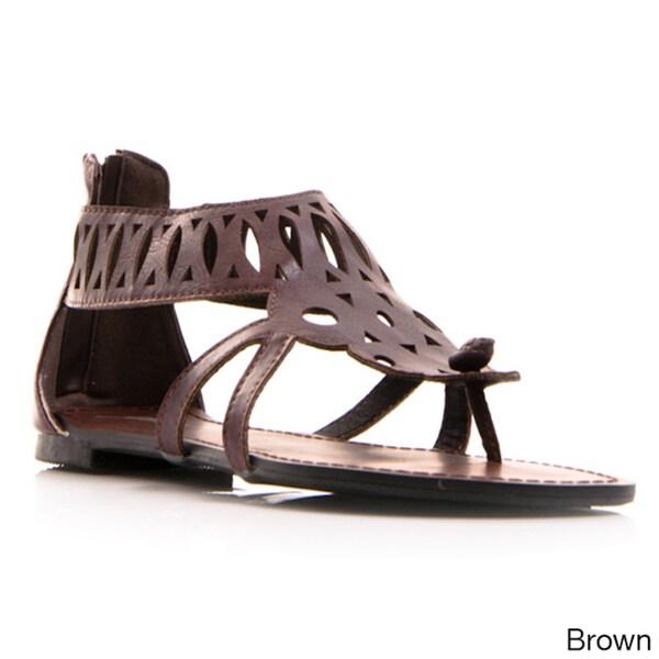 Gomax Women's 'Berdine 41' Gladiator Sandal