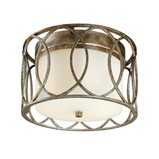 Troy Lighting Sausalito 2-light Flush Mount