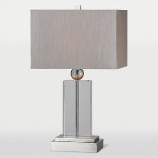 Achilles 1-light Crystal Table Lamp