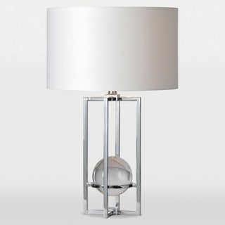 Rhodes 1-light Chrome Table Lamp