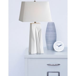Casper 1-light Off-White Table Lamp
