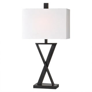 Chi 1-light Black Table Lamp