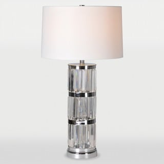 Zodiac 1-light Chrome Table Lamp