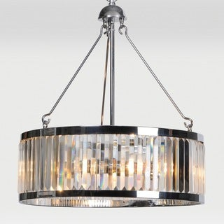 Zodiac 3-light Chrome Pendant