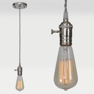 LaSalle 1-light Silver Pendant