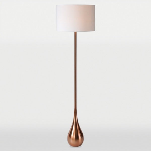 Pandora 1-light Copper Floor Lamp