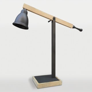 Aksel 1-light Antique Bronze Desk Lamp