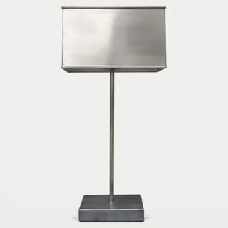 Celia 1-light Antique Silver Table Lamp