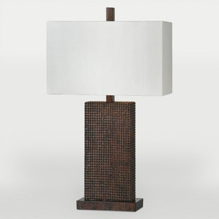 Shriya 1-light Copper Table Lamp