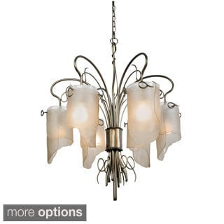 Varaluz Recycled Soho Six Light Chandelier